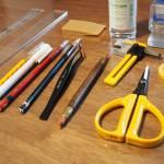 ポーセラーツで使用する道具